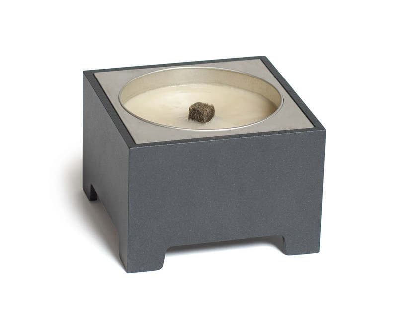 Metal candle holder BRICK - Röshults
