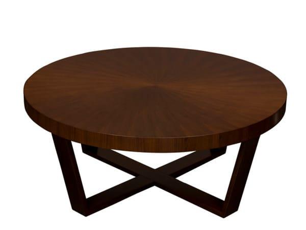 Low round coffee table LUSITANIAN - Hamilton Conte Paris