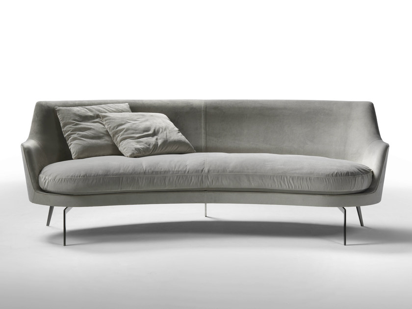 3 seater fabric sofa GUSCIO | Fabric sofa - FLEXFORM