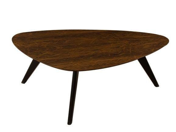 Triangular wooden coffee table JASPER - Hamilton Conte Paris