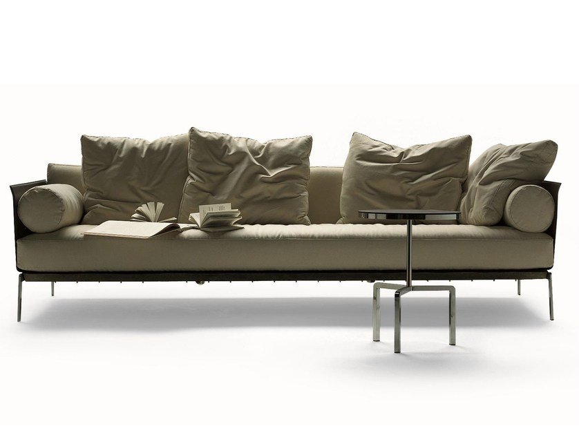 Fabric sofa with removable cover HAPPY HOUR | Fabric sofa - FLEXFORM