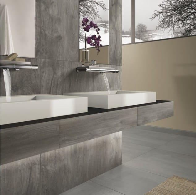 Pavimento rivestimento in gres porcellanato effetto legno - Piastrelle casalgrande padana ...