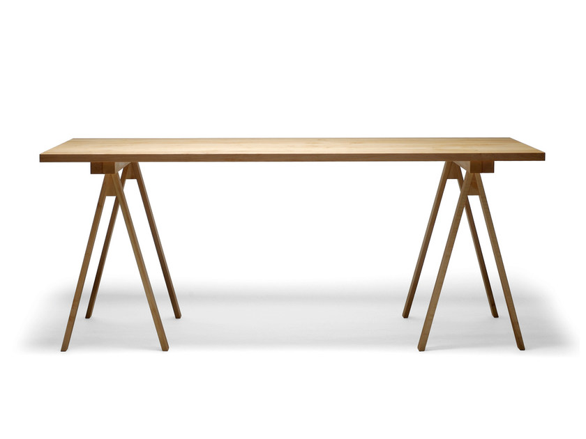 Rectangular wooden table ARKITECTURE PPK1-2-3 by Nikari