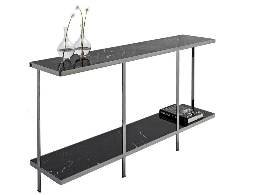 Rectangular metal console table ODILON | Console table - Nube Italia
