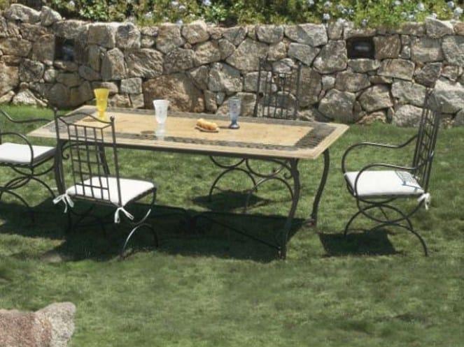 Rectangular garden table ALADINO - Talenti