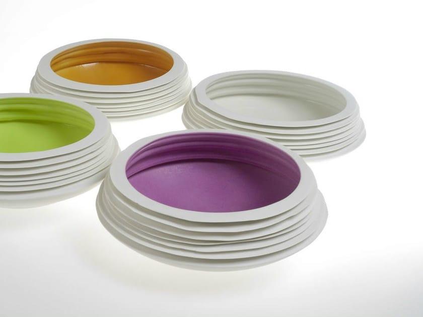 Porcelain serving bowl NOVALIS   Serving bowl - Fos Ceramiche