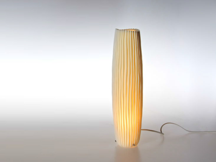 Handmade porcelain table lamp NOVALIS | Table lamp by Fos Ceramiche