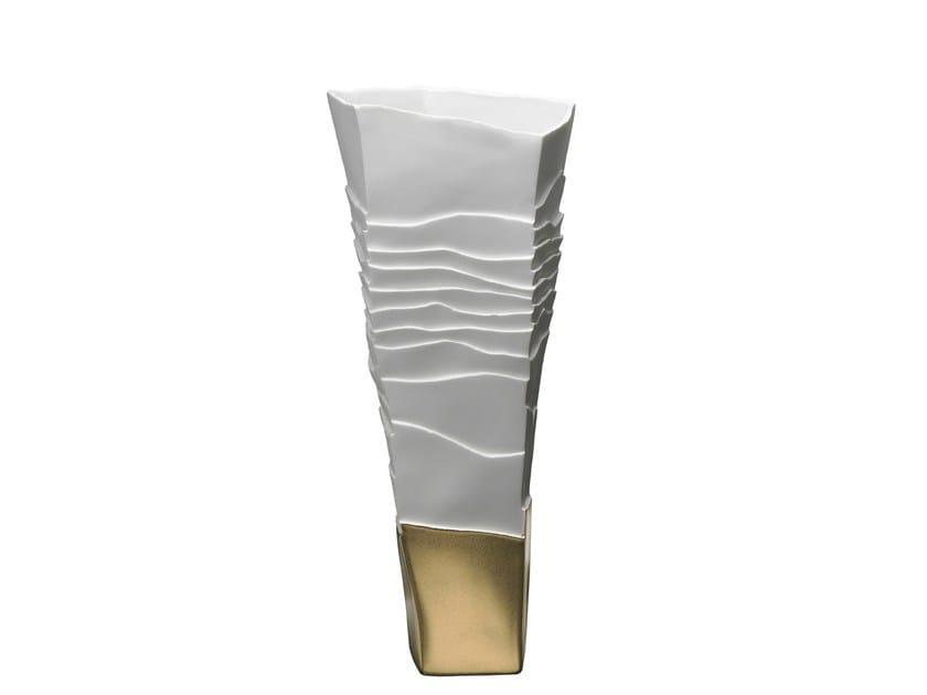 Porcelain vase EROSUM   Vase - Fos Ceramiche