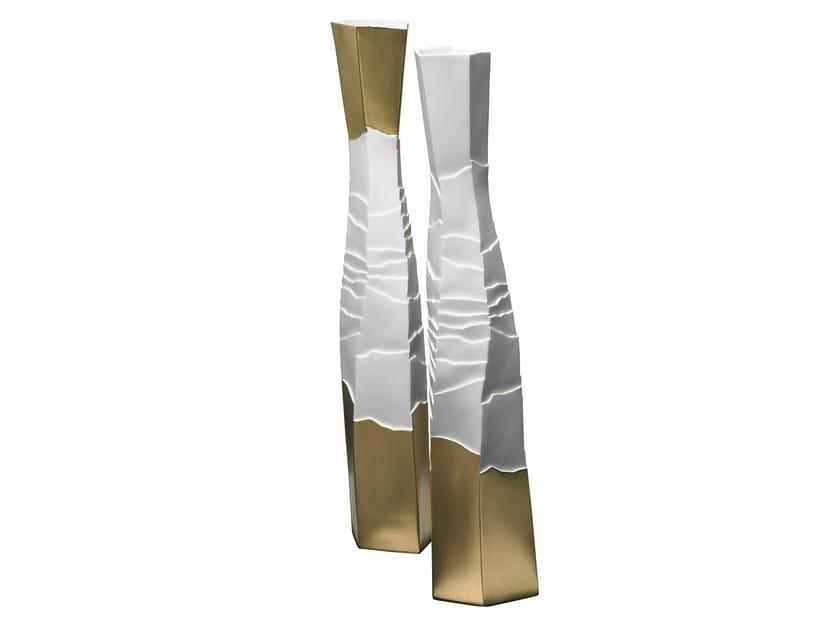 Porcelain vase EROSUM | Vase - Fos Ceramiche