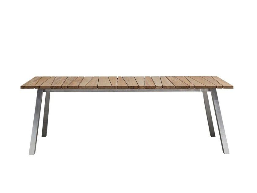 Rectangular dining table INOUT 133 - Gervasoni