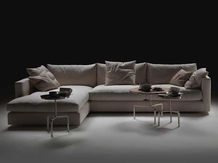 Corner sectional fabric sofa MAGNUM | Sectional sofa - FLEXFORM