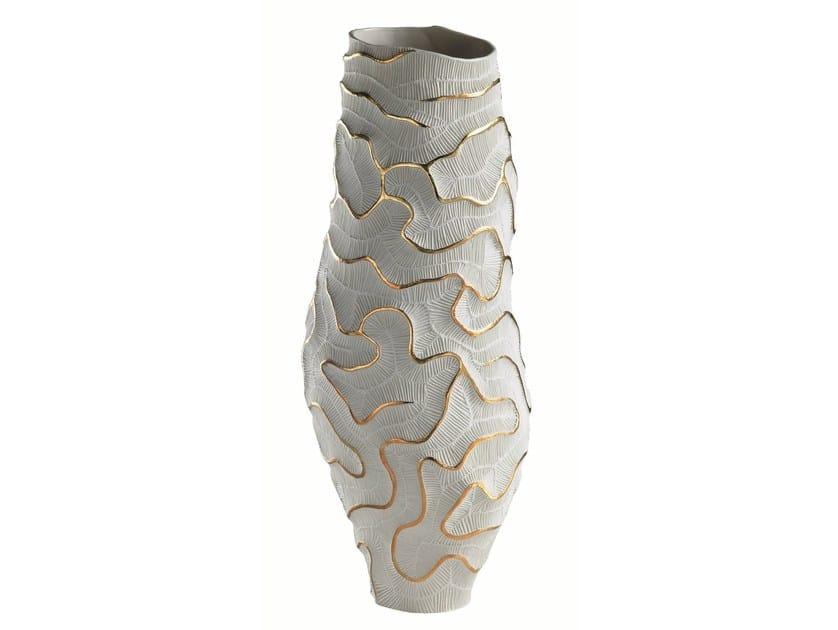 Porcelain vase FOSSILIA | Vase - Fos Ceramiche