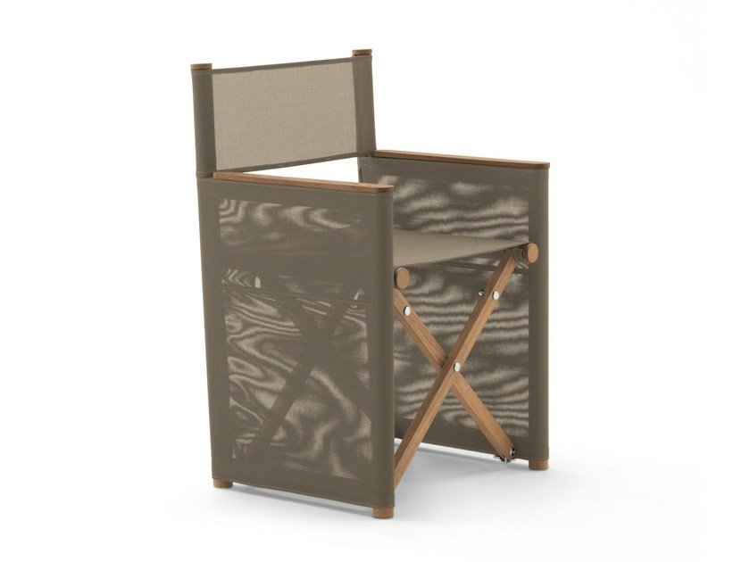 Folding teak garden chair ORSON | Folding chair - RODA