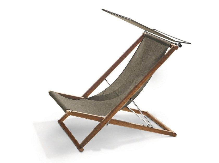 Folding teak deck chair ORSON | Deck chair - RODA