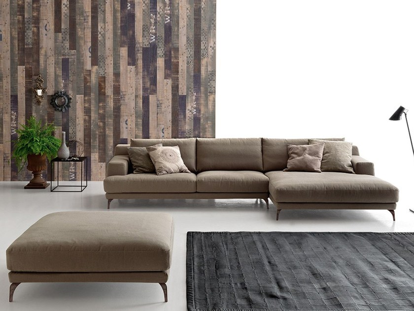 Sectional fabric sofa FOSTER - Ditre Italia