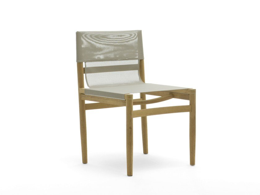 Teak garden chair ROAD | Chair by RODA