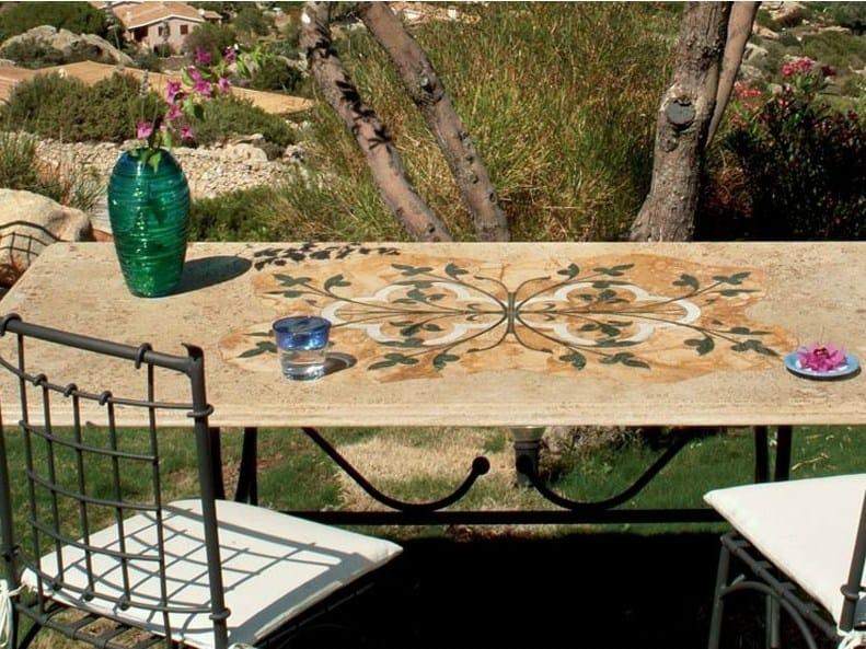 Rectangular garden table GIUNONE - Talenti