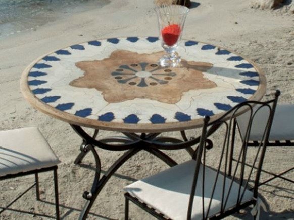 Round garden table MIZAR - Talenti