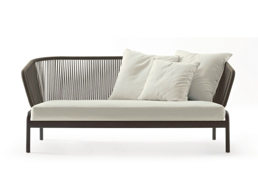 2 seater stainless steel sofa SPOOL | 2 seater sofa by RODA