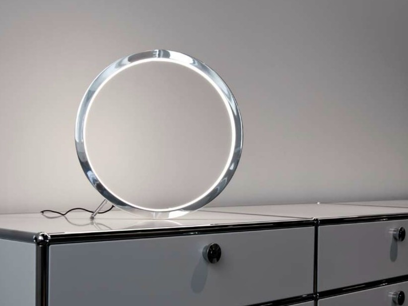 LED aluminium table lamp CIRCOLO SLIM | Table lamp - Sattler