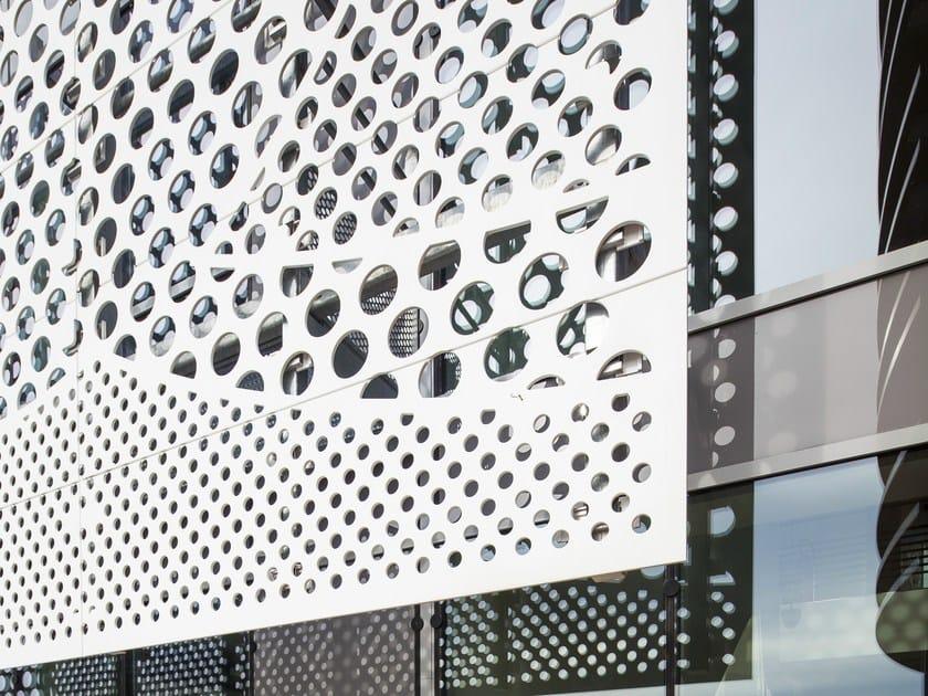 Revestimiento de fachada piedra artificial hi macs para - Piedra artificial para fachadas ...