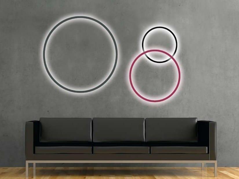 LED aluminium wall lamp CIRCOLO SLIM | Wall lamp - Sattler