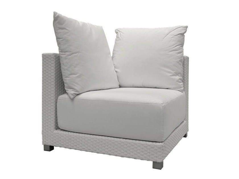 Corner garden armchair INOUT 206AN - Gervasoni