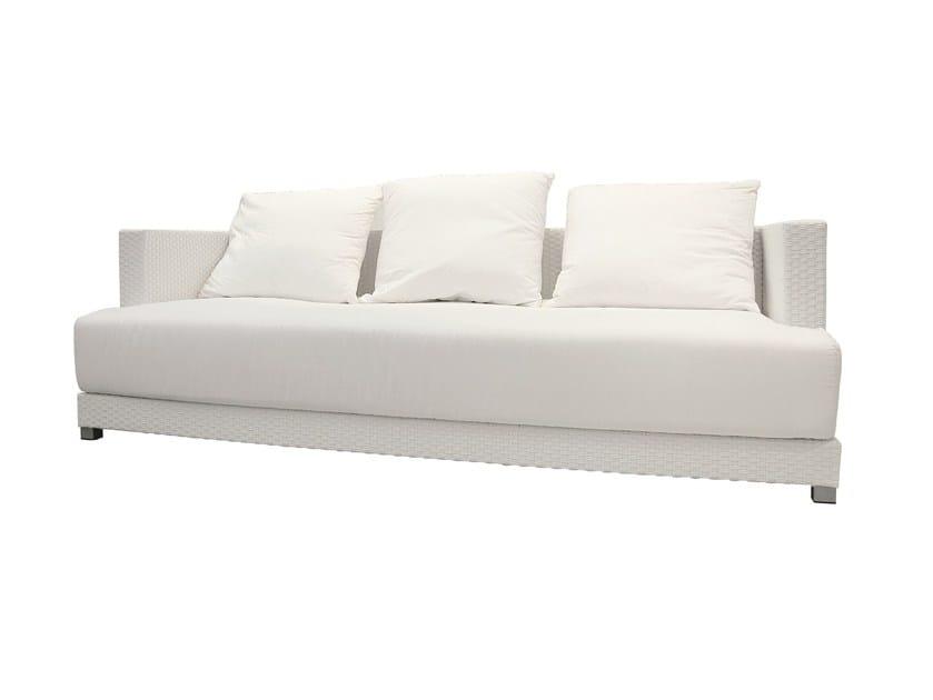 Design 3 seater garden sofa INOUT 204 - Gervasoni