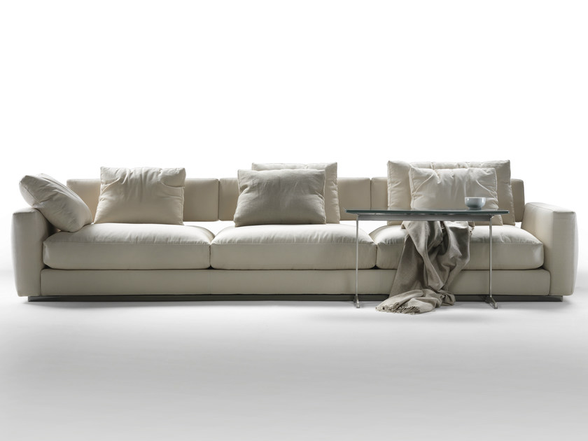 Fabric sofa with removable cover PLEASURE | Sofa - FLEXFORM