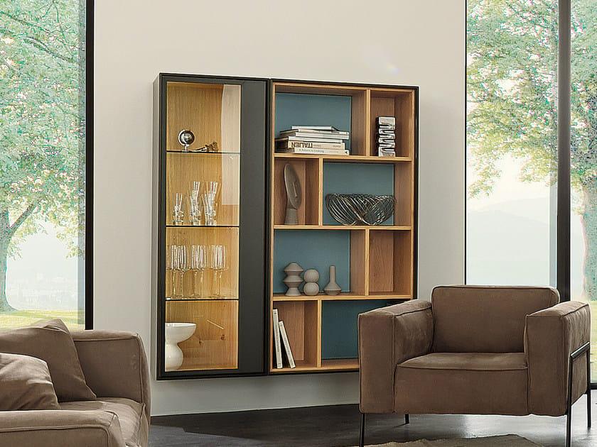 Open floating bookcase SCOPIA | Floating bookcase - Hülsta-Werke Hüls