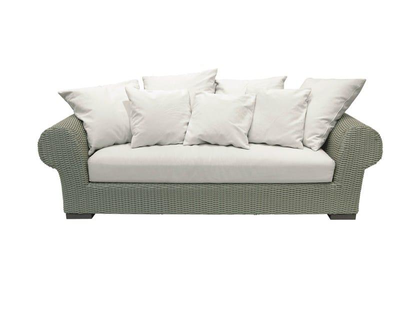 3 seater garden sofa INOUT 602 - Gervasoni