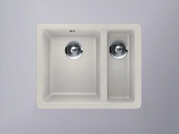 Built-in HI-MACS® sink CS490D | HI-MACS® sink - HI-MACS® by LG Hausys Europe