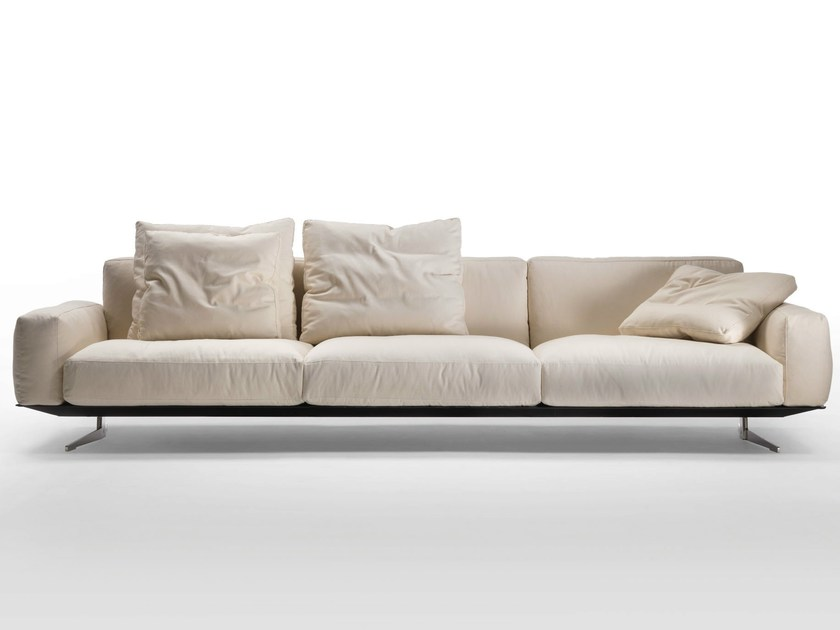 Fabric sofa with removable cover SOFT DREAM | Fabric sofa - FLEXFORM