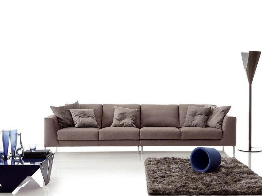 Sectional imitation leather sofa ARTIS LEATHER | Sectional sofa - Ditre Italia