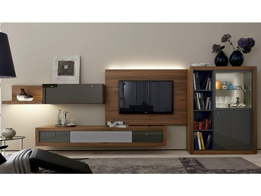 Sectional TV wall system XELO | TV wall system - Hülsta-Werke Hüls