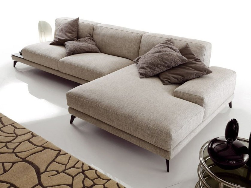 Corner fabric sofa SHADE | Corner sofa - Ditre Italia