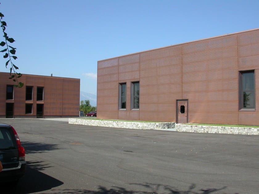 Continuous facade system ONDUL 18 - CENTROMETAL