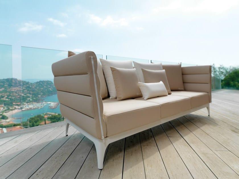 Fabric sofa with removable cover PAD | Garden sofa - Talenti