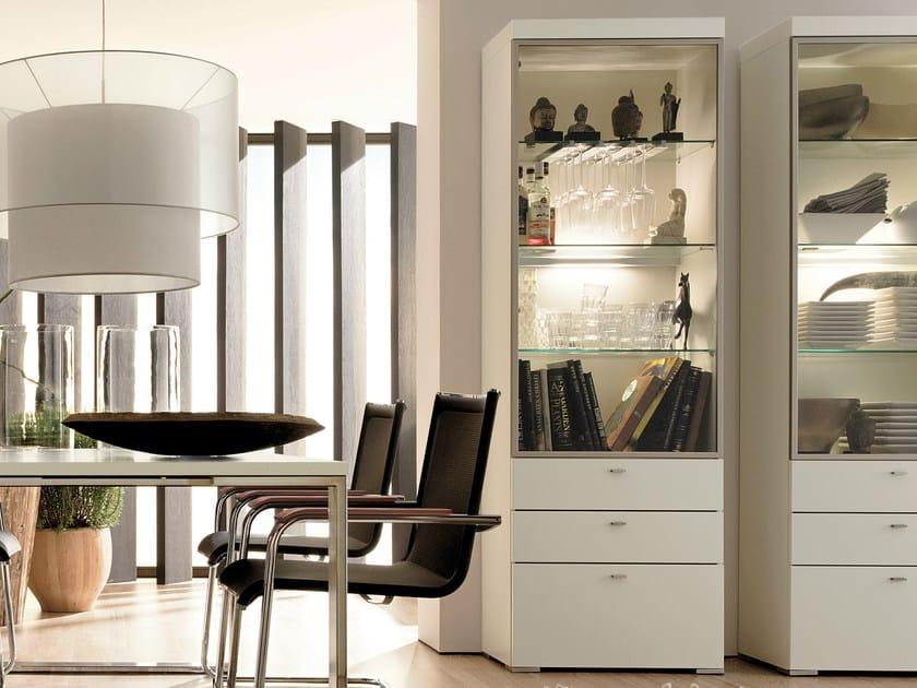 lacquered display cabinet encado ii encado ii collection by h lsta werke h ls. Black Bedroom Furniture Sets. Home Design Ideas