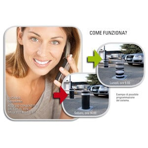 Automatic access control Jcall SYSTEM - FAAC Soc. Unipersonale