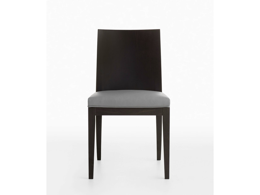 Upholstered wooden chair MIRA | Upholstered chair - Crassevig