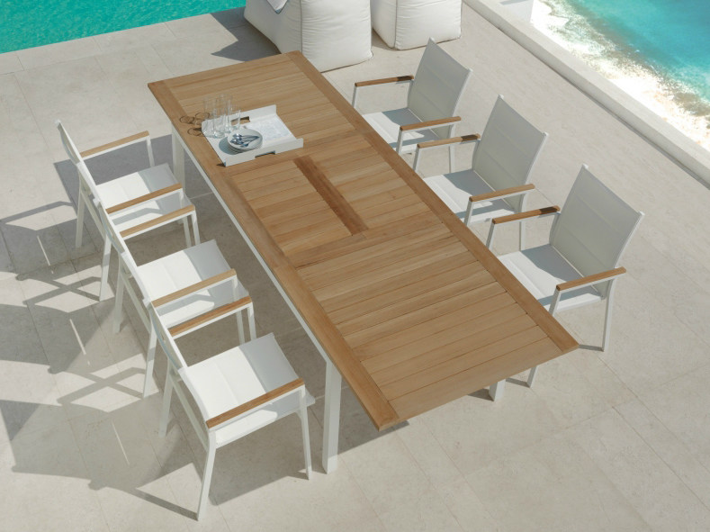 Teak garden table TIMBER | Table - Talenti