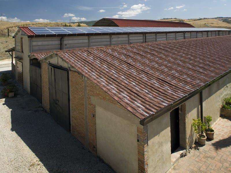 Pannello metallico coibentato per copertura isodomus isopan for Dimensioni finestre velux nuova costruzione