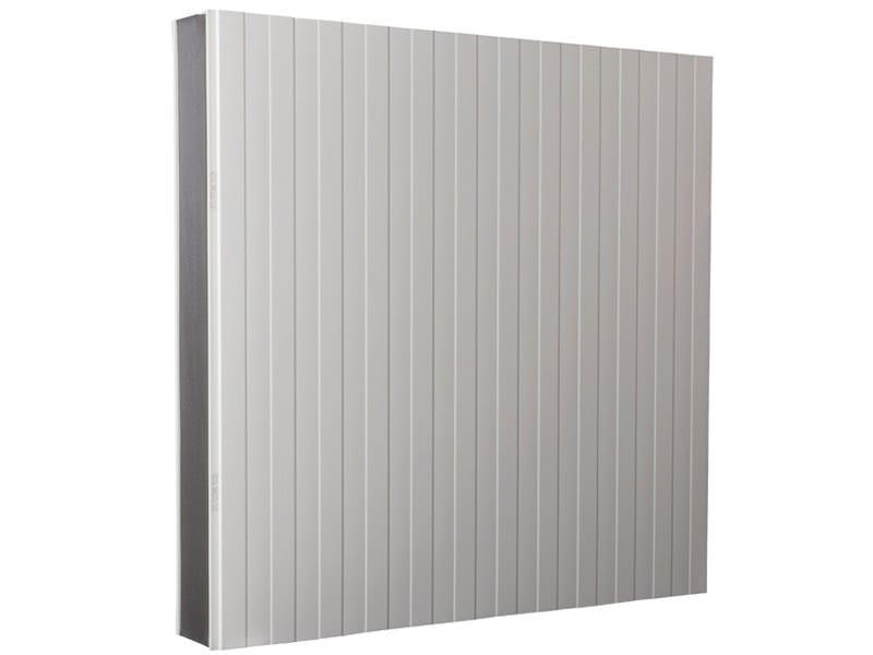 Pannello metallico coibentato per facciata isofrigo isopan for Pannelli coibentati lisci prezzi