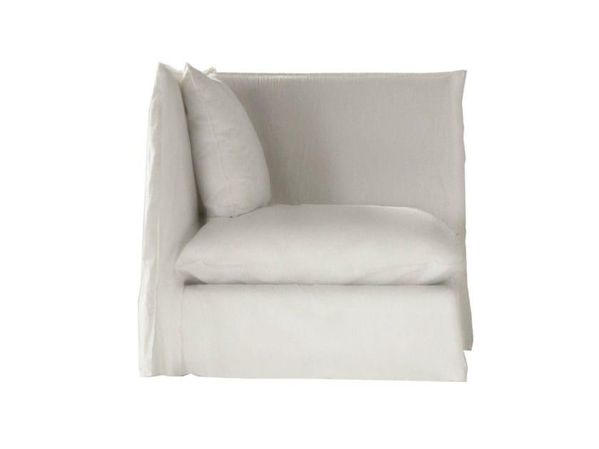 Corner modular armchair GHOST 07 - Gervasoni