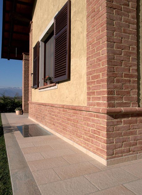 Rivestimento per esterni per interni genesis 140 mattone for Case in stucco e mattoni