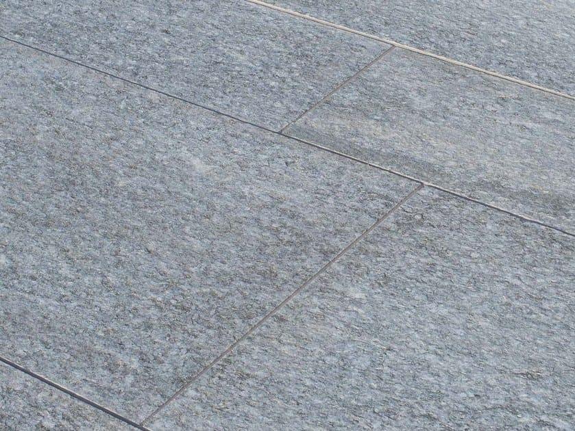 Pavimento per esterni in pietra naturale luserna fiammata grigia pavimento in pietra naturale - Pietre da esterno pavimenti ...