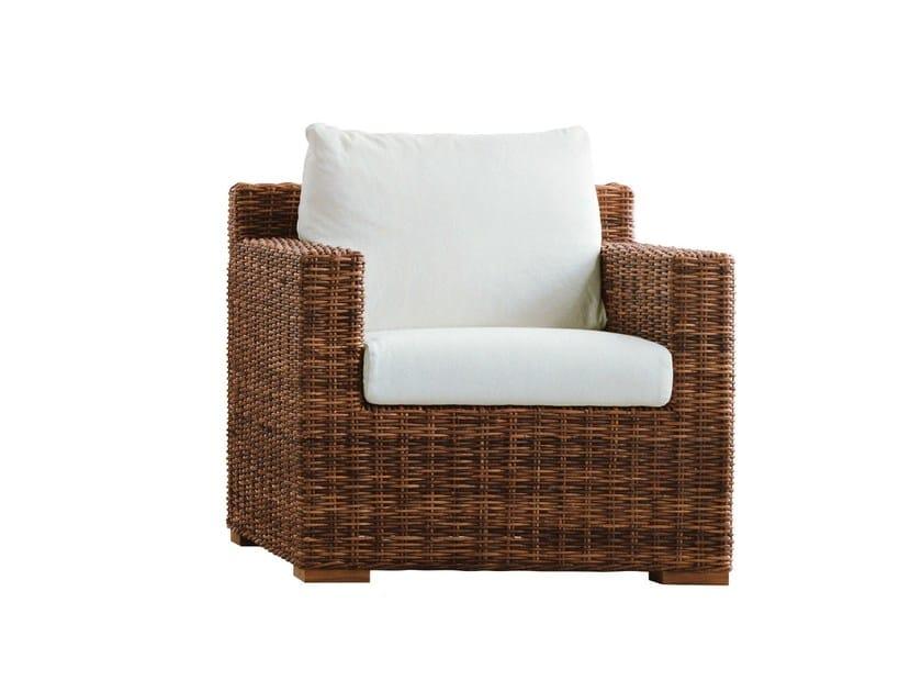 Armchair with armrests CROCO 05 - Gervasoni