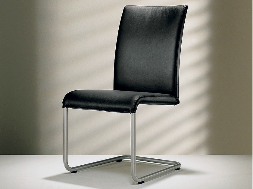Cantilever high-back leather chair D2-6 | High-back chair - Hülsta-Werke Hüls