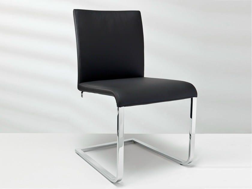 Cantilever leather chair D2-8 | Cantilever chair - Hülsta-Werke Hüls